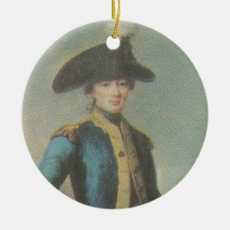 Insignia del marqués de Lafayette - de Cincinnati Adorno Redondo De Cerámica