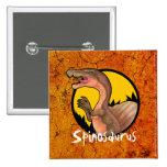Insignia del naranja de Spinosaurus