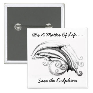 Insignia del Pin del botón del delfín