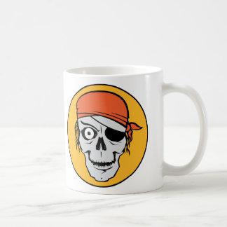 Insignia del pirata de los Undead Taza De Café