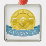 Insignia del premio de la garantía adornos