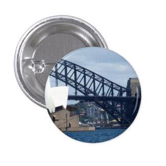 Insignia del puerto de Sydney Pin Redondo 2,5 Cm