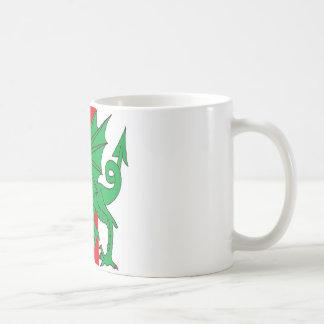 Insignia del reino medio tazas de café
