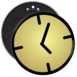 Insignia del reloj de Oldskool Pin Redondo 15 Cm