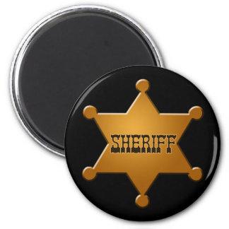 Insignia del sheriff - imán