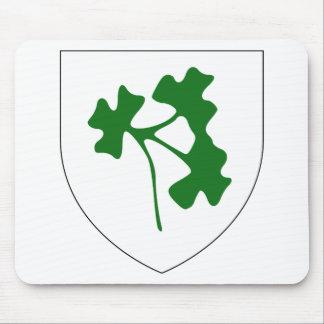 Insignia del trébol de Irlanda, Irlanda Alfombrillas De Raton