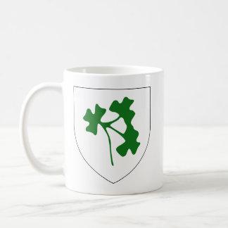 Insignia del trébol de Irlanda, Irlanda Taza De Café