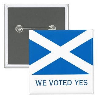 Insignia escocesa del Pin del voto de la