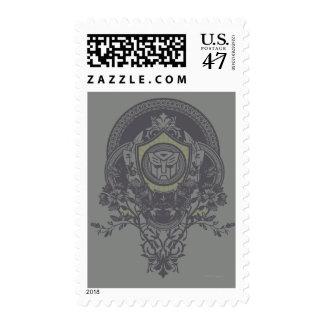 Insignia floral 2 de Autobot Timbres Postales
