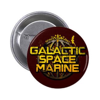 Insignia galáctica del infante de marina del espac pins