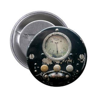 Insignia grande íntima del botón del panel de cont