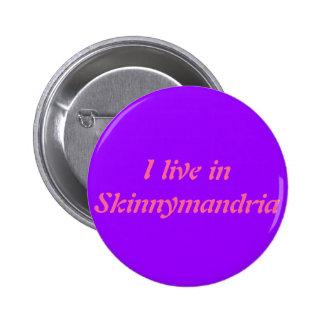 Insignia horrible de las historias de Skinnymandri Pin