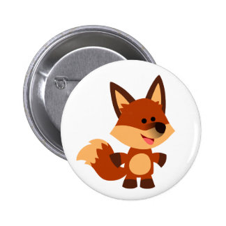 Insignia inocente linda del botón del Fox del dibu Pins