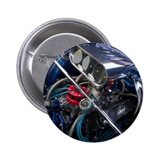 Insignia limpia hermosa del botón del motor de coc