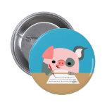 Insignia linda del botón de las mujeres del cerdo  pins