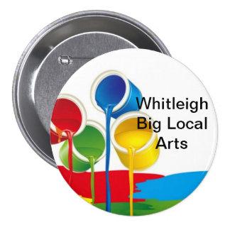 Insignia local grande de los artes de Whitleigh. T Pin