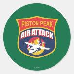 Insignia máxima del ataque aéreo del pistón