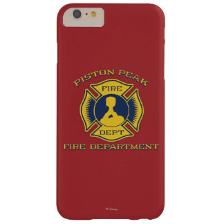 Insignia máxima del cuerpo de bomberos del pistón funda barely there iPhone 6 plus
