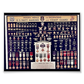 Insignia Medals And Decorations