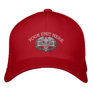 Insignia médica Iraq del combate y gorra de la Gorra De Beisbol