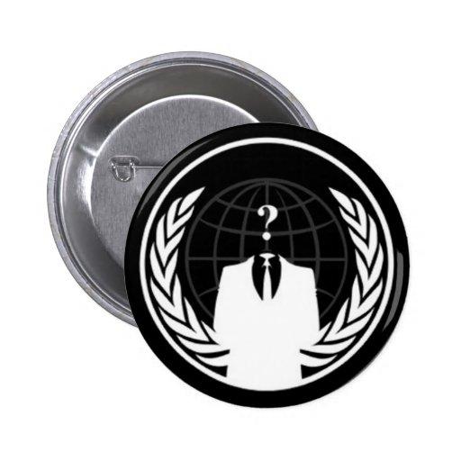 Insignia negra de Anonywear Pin