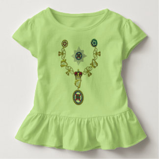Insignia of Knight of The Order of St. Patrick Toddler T-shirt