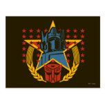 Insignia patriótica de Autobot Postal