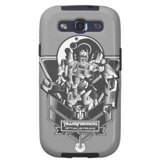 Insignia primera 2 del metal de Optimus Samsung Galaxy SIII Funda