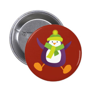 Insignia púrpura de salto linda del botón/Pin del Pin Redondo De 2 Pulgadas