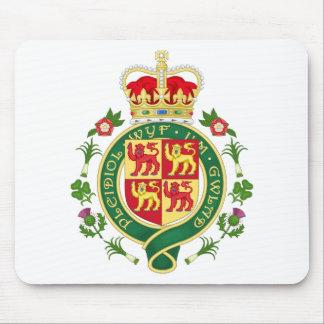 Insignia real de País de Gales Alfombrilla De Ratones