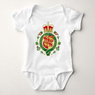 Insignia real de País de Gales Body Para Bebé