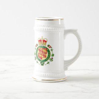 Insignia real de País de Gales Jarra De Cerveza