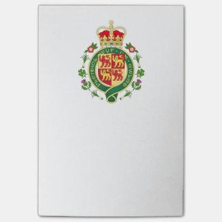 Insignia real de País de Gales Notas Post-it®
