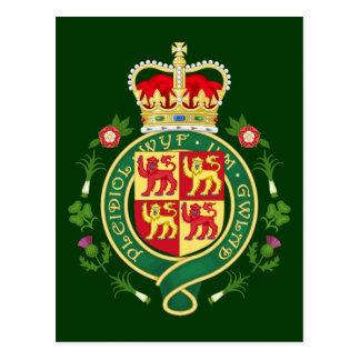 Insignia real de País de Gales Postales