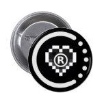 Insignia real raoo401 (botón) pins