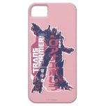 Insignia rosada primera de Optimus Funda Para iPhone SE/5/5s