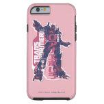 Insignia rosada primera de Optimus Funda Resistente iPhone 6
