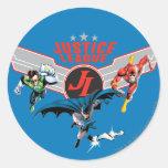 Insignia y héroes del aire del vuelo de la liga de etiquetas