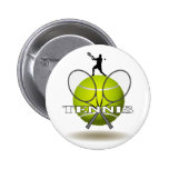 Insignias agradables del tenis pin