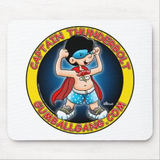 Insignias de capitán Thunderbolt Tapete De Ratón