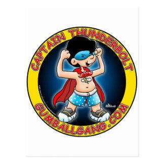 Insignias de capitán Thunderbolt Tarjetas Postales