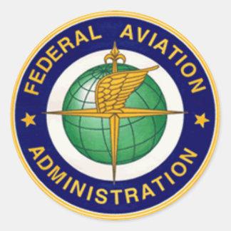 INSIGNIAS DE FAA REDONDAS PEGATINAS REDONDAS
