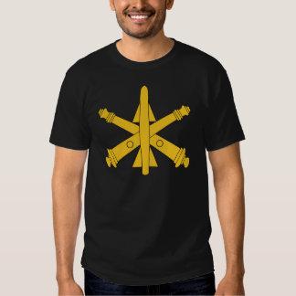 Insignias de la artillería de la defensa aérea polera