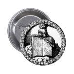 Insignias de Minerval Pin Redondo 5 Cm