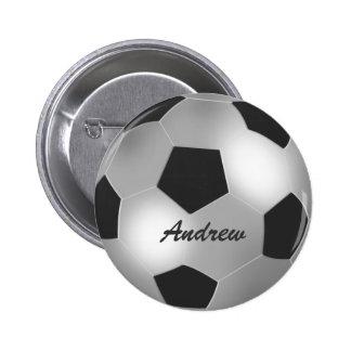 Insignias de plata conocidas adaptables del botón  pin redondo de 2 pulgadas