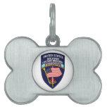 Insignias de USMLM Placas De Nombre De Mascota