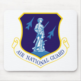 Insignias del Guardia Nacional del aire Tapete De Raton
