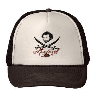 Insignias del pirata de sir Walter Raleigh Gorras De Camionero