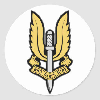 Insignias del SAS Etiquetas