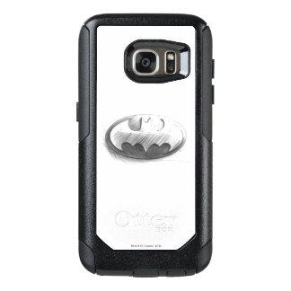 Insignias del símbolo el | de Batman que dibujan Funda Otterbox Para Samsung Galaxy S7